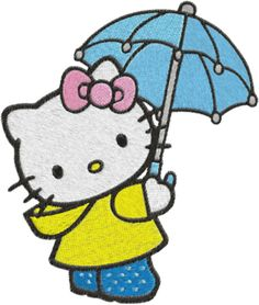 hello kitty embroidery designs | Embroidery Hello kitty Machine Embroidery Design -- 0290