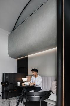 Feature Wall Design, Ceiling Plan, Interior Architecture, Interior Design, Corporate Office Design, Garage Interior, Clinic Design, Cafe Design, Commercial Interiors