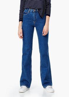 Jean taille haute kate - Jeans pour Femme | MANGO