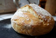 Gotta try this! No-knead bread
