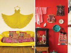 DIY HOME: CLOTHING ARTWORK