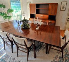 Willett Furniture cherry Trans East dining set