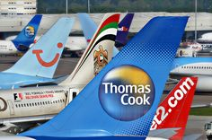 Thomas Cook, Etihad, Thompson, Jet2.com at MAN.