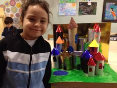 Castle craft with 1st grades