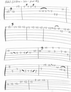 Guitar Tabs And Chords, Guitar Tabs Songs, Cello Music, Guitar Sheet Music, Guitar Room, Guitar Scales, Hotel California, Ukulele, Blues