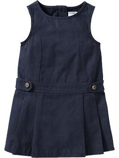 Twill Uniform Jumpers - adorable - navy - $14 size4t