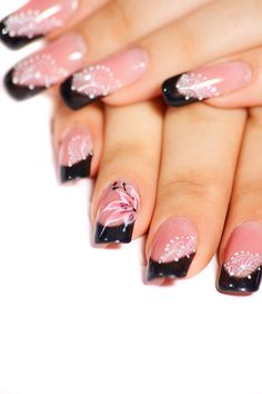 Flower Nail Art 2014 | See more nail designs at http://www.nailsss.com/french-nails/2/