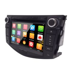Car Head Unit Sat Nav DVD Player for Toyota RAV4 2006 - 2012 with GPS Navigation Radio TV Stereo System+Camera back&Free ship