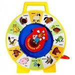 Our Fisher-Price See' N Say Toy includes 12 different animals and makes learning fun. This classic Fisher-Price toy is an authentic reproduction of the 1965 original. Fisher Price Vintage, Fisher Price Toys, Toddler Toys, Baby Toys, Baby Play, Kids Toys, Talking Toys, See And Say, Learning Toys