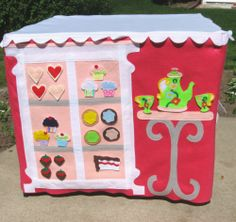 card table playhouse pattern | Add On Card Table Playhouse Pattern, CupCakery | CardTablePlayhouses ...