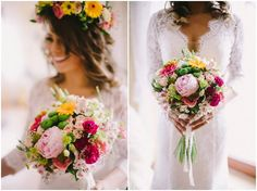 Natalia and Marcin�s Colourful Polish Wedding, with Flower Crowns and Pet Dogs. By PNM Weddings.