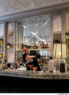 The Connaught Bar in the Connaught, Mayfair. One of our top five #hotel #bars in #London.