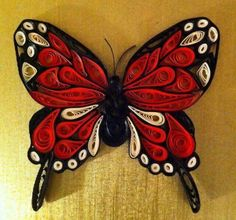 Quilling – Details of Monarch butterfly by Canan Ersöz. Quilling – Details of Monarch butterfly by Canan Ersöz. Quilling Images, Paper Quilling Tutorial, Quilling Animals, Neli Quilling, Paper Quilling Patterns, Quilled Paper Art, Quilling Jewelry, Quilling Paper Craft, Paper Crafts Origami