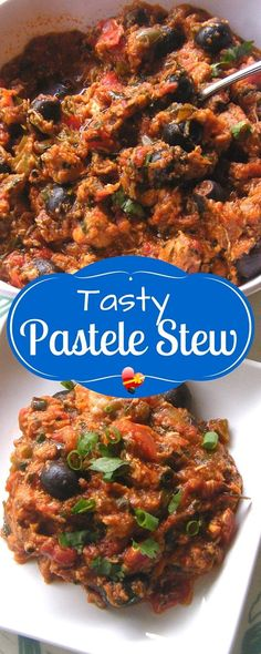 Easy and tasty pastele stew recipe from our own Honolulu firefighters.