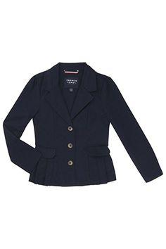 872b2a3d2ec Amazon.com  French Toast School Uniform Girls Twill Blazer  Clothing