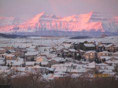 My Town!  Okotoks, Alberta.