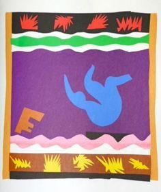 Henri Matisse - Jazz le toboggan