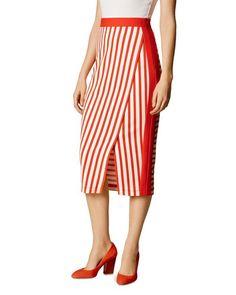 e36688674b Karen Millen Striped Pencil Skirt Karen Millen, Short Skirts, Stripes,  Skirt Midi,