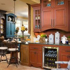 Black And Wood Kitchen Cabinets Design, Pictures, Remodel, Decor and Ideas - page 10