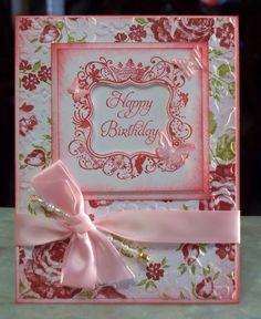 handmade birthday card using stampin up.The top 20 Ideas About Handmade Birthday Cards Handmade Greetings, Greeting Cards Handmade, Ideas Prácticas, Card Ideas, Pink Cards, Beautiful Handmade Cards, Stamping Up Cards, Handmade Birthday Cards, Handmade Wedding