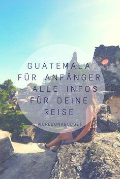 Du planst deine erste Reise nach Guatemala? Wir helfen dir einen Überblick über das Land des ewigen Frühlings zu bekommen. Routentipps, eine Kurzvorstellung unserer Reiseziele, Infos zu Transport, Unterkünften, Essen, Sicherheit, den Kosten und Spanisch lernen erwarten dich in unserem kompakten Blogpost.