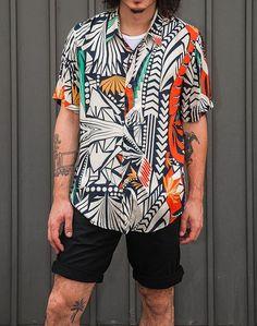 Camisa Resort, Camisa Tropical Masculina, Camisa Havaiana. Macho Moda - Blog de Moda Masculina: Camisa Resort Masculina, Pra Inspirar e Onde Encontrar no Brasil? Tric Tric