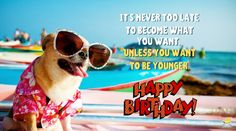 When it's the special day of someone you care about, the best thing to do - since you can't buy them a time machine - is share a funny birthday image. Funny Happy Birthday Photos, Birthday Wishes Quotes, Singing Happy Birthday, Happy Birthday To Us, Happy Birthday Messages, Birthday Memes, Birthday Greetings, Birthday Cards, Birthday Wishes For Myself