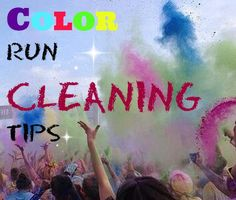 Blog post at Real Advice Gal : Color Run Cleaning Tips   I finally did it I went to a color run. I decided to try out the Color Me Radrace. I was so excited. I had ev[..]