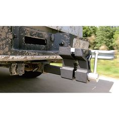 This go-anywhere Wilton ATV All-Terrain Truck Vise fits securely in your standard 2in. hitch receiver, or can be mounted on a trailer or bench with the included mounting bracket. The vise sits at a perfect working height that won't interfere with the truck bed or tailgate. Includes hitch pin and cotter pin.