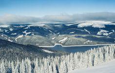 Vidra lake ski domain by Dany Cosma on Winter Goddess, Visit Romania, Famous Castles, Landscape Photographers, Wonderful Places, Skiing, Scenery, Wildlife, Ski Resorts