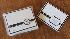 Shower gift idea.  All products Stampin Up!.