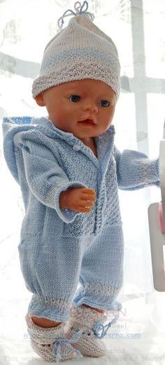 NEU Puppenkleidung Set für Baby Born oder Puppen 32 cm