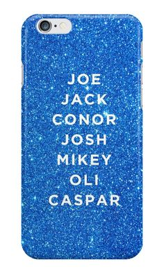 Our YouTuber Boys Phone Case (Buttercream Squad) is available online now for just £5.99.    Fan of the buttercream squad? Get the YouTuber boys, Joe, Jack, Conor, Josh, Mikey, Oli & Caspar on this blue glittery phone case.    Material: Plastic, Production Method: Printed, Authenticity: Unofficial, Weight: 28g, Thickness: 12mm, Colour Sides: Clear, Compatible With: iPhone 4/4s | iPhone 5/5s/SE | iPhone 5c | iPhone 6/6s | iPhone 7 | iPod 4th/5th Generation | Galaxy S4 | Galaxy S5 | Galaxy S6 |