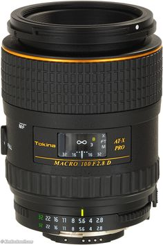Tokina 100mm f/2.8 AF - Got this the other day. Now just to get out there and start taking shots. Just need to finish my stealth box so I can take TtV images.
