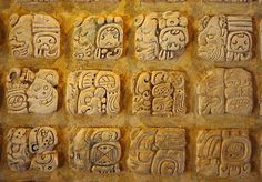 For over three centuries, the ancient Maya flourished in Mesoamerica. They created a writing system that is both beautiful and complex. In fact, Maya glyphs are so hard to master that a person needs to be an accomplished artist to be able to write it properly. The Maya writing system is logosyllabic, meaning that its symbols can represent sounds in the form of syllables or they may represent whole concepts. (Info by Lily Ball) -- Ancient History Encyclopedia