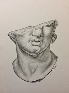 Discover recipes, home ideas, style inspiration and other ideas to try. Pencil Art Drawings, Art Drawings Sketches, Roman Drawings, Creepy Drawings, Wallpaper Angel, A Level Art, Art Hoe, Renaissance Art, Art Sketchbook
