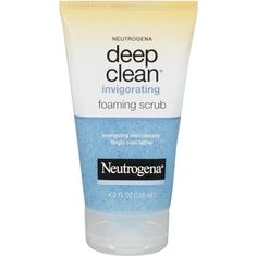 Neutrogena Deep Clean Invigorating Foaming Scrub 4.20 oz (Pack of 4) Skinceuticals Hydrating B5 Moisture-Enhancing Gel, 1 Oz