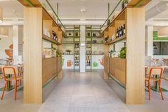 Pulcino Bio organic restaurant by Emanuele Durola Design, Milan – Italy » Retail Design Blog