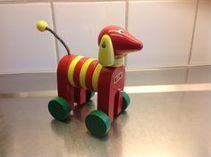 Resultado de imagen para brio vintage wooden pull toys