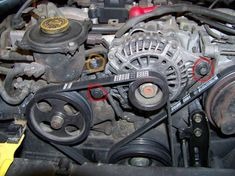 DIY: SOHC Timing Belt Change w/ Pics! - Subaru Impreza GC8 & RS Forum & Community: RS25.com