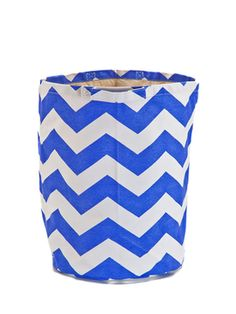 Printed Round Hamper from Kid-Friendly Home on Gilt