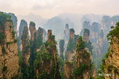 Took this shot when visiting Zhangjianjie National Forest Park Hunan China last year. [2400x1600] [OS] [OC]   landscape Nature Photos