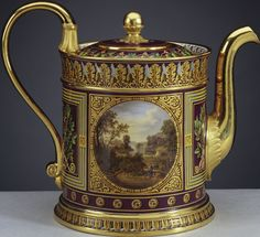 Sèvres porcelain factory - Teapot