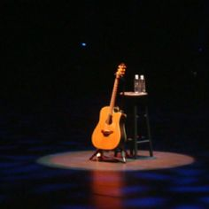 Stage for Garth Brooks in Vegas.Best show ever! Garth Brooks, Guitar Players, Best Shows Ever, Vegas, Stage, Hat, Country, Night, Boots