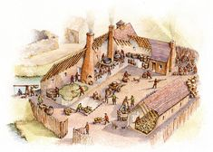 The Brewhouse in Dunnalong, Co Londonderry in the 17th Century by Philip Armstrong