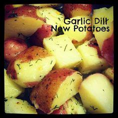 garlic dill red potatoes recipe