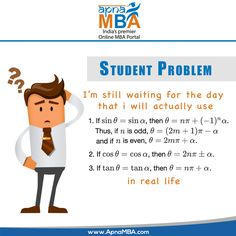 Problem of every Student.  Apply Now: http://qoo.ly/ef7xs  #ApnaMBA #Education #StudentFacts #StudentLife