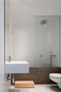bathtub and shower solution + stairs
