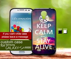 Keep calm alive hunger games - Samsung Galaxy S4 Case | TheYudiCase - Accessories on ArtFire