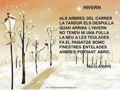 EDUCACIÓ INFANTIL : POEMES D'HIVERN Conte, Printables, Education, School, Movies, Movie Posters, Outdoor, Snowman, Gnomes